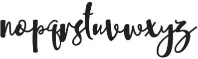 Sheyna otf (400) Font LOWERCASE