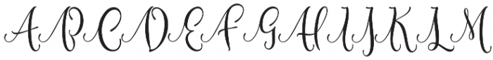 Shidea otf (400) Font UPPERCASE