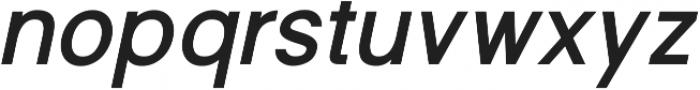 Shine Pro Bold Oblique ttf (700) Font LOWERCASE