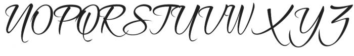 Shinelight otf (300) Font UPPERCASE
