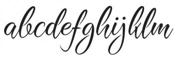 Shinelight otf (300) Font LOWERCASE