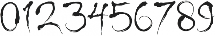 Shinigami otf (400) Font OTHER CHARS