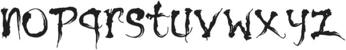 Shinigami otf (400) Font LOWERCASE