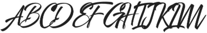 Shiver otf (400) Font UPPERCASE