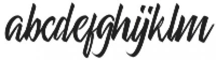 Shiver otf (400) Font LOWERCASE