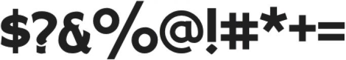 Sho Card Gothic Regular otf (400) Font OTHER CHARS