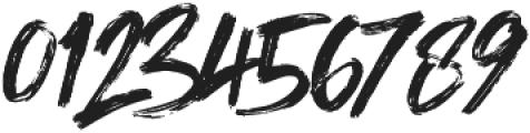 Shockwave Brush Caps otf (400) Font OTHER CHARS