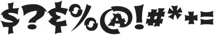 Shojumaru Pro Regular otf (400) Font OTHER CHARS