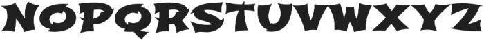 Shojumaru Pro Regular otf (400) Font LOWERCASE