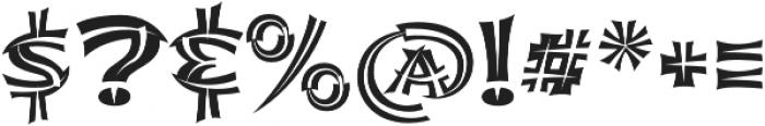 Shojumaru Pro Split otf (400) Font OTHER CHARS