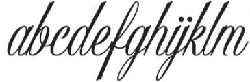 Sholaria otf (400) Font LOWERCASE