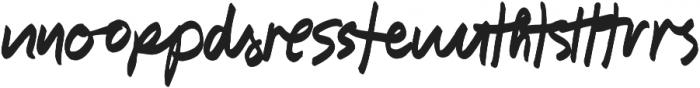 Shooken Alternates otf (400) Font LOWERCASE