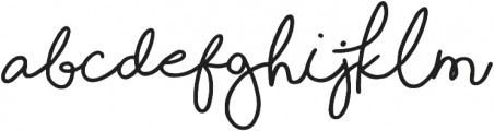 Shorelines Script Bold otf (700) Font UPPERCASE