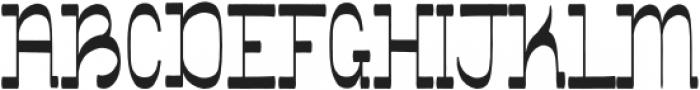 Showboat Regular otf (400) Font UPPERCASE
