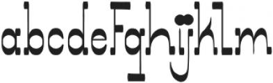 Showboat Regular otf (400) Font LOWERCASE