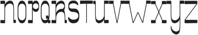 Showboat Regular ttf (400) Font UPPERCASE