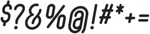 Showcard Draftsman Regular Oblique otf (400) Font OTHER CHARS
