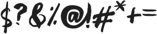 Shrewdy otf (400) Font OTHER CHARS