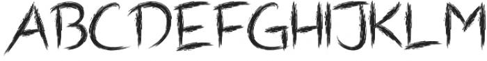 Shrub otf (400) Font UPPERCASE
