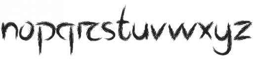 Shrub otf (400) Font LOWERCASE