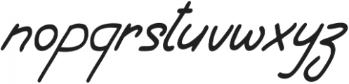 Shurjota otf (400) Font LOWERCASE