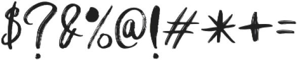 Shutten Reason Sans otf (400) Font OTHER CHARS