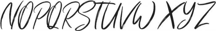 Shutten Reason otf (400) Font UPPERCASE