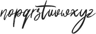 Shutten Reason otf (400) Font LOWERCASE