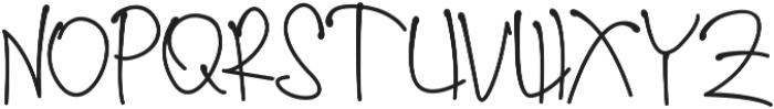 sherly ttf (400) Font UPPERCASE