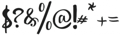 shintya Regular otf (400) Font OTHER CHARS