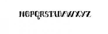 Shakila Typeface Hand Drawn Ornaments Font UPPERCASE