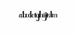 Shakila Typeface Hand Drawn Ornaments Font LOWERCASE