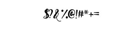 Shella sans.otf Font OTHER CHARS