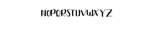 Shella sans.otf Font LOWERCASE