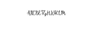 Shellahera Font Font UPPERCASE