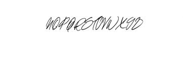 Shelton Script.ttf Font UPPERCASE