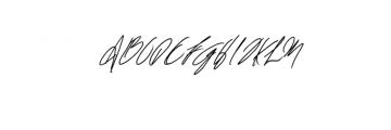 Shelton Script.woff Font UPPERCASE