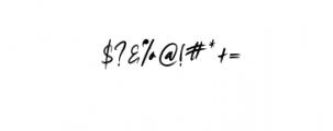 shitta script.otf Font OTHER CHARS