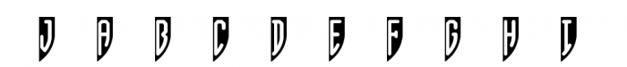 Shield Monograms Font OTHER CHARS