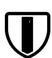 Shield Three White Font UPPERCASE