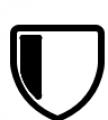 Shield Three White Font LOWERCASE