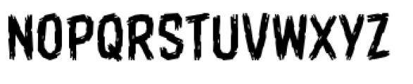 Shrunken Head BB Light Font UPPERCASE
