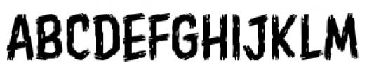 Shrunken Head BB Light Font LOWERCASE
