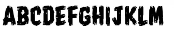 Shrunken Head BB Regular Font UPPERCASE
