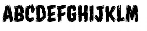 Shrunken Head BB Regular Font LOWERCASE
