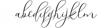 Shailene Script Font Font LOWERCASE