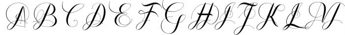 Shanghai Font UPPERCASE