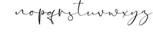Shattera Font LOWERCASE