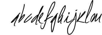 Shelton Script Font LOWERCASE