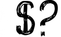Shriftok typeface font painted by ink and pen Font OTHER CHARS